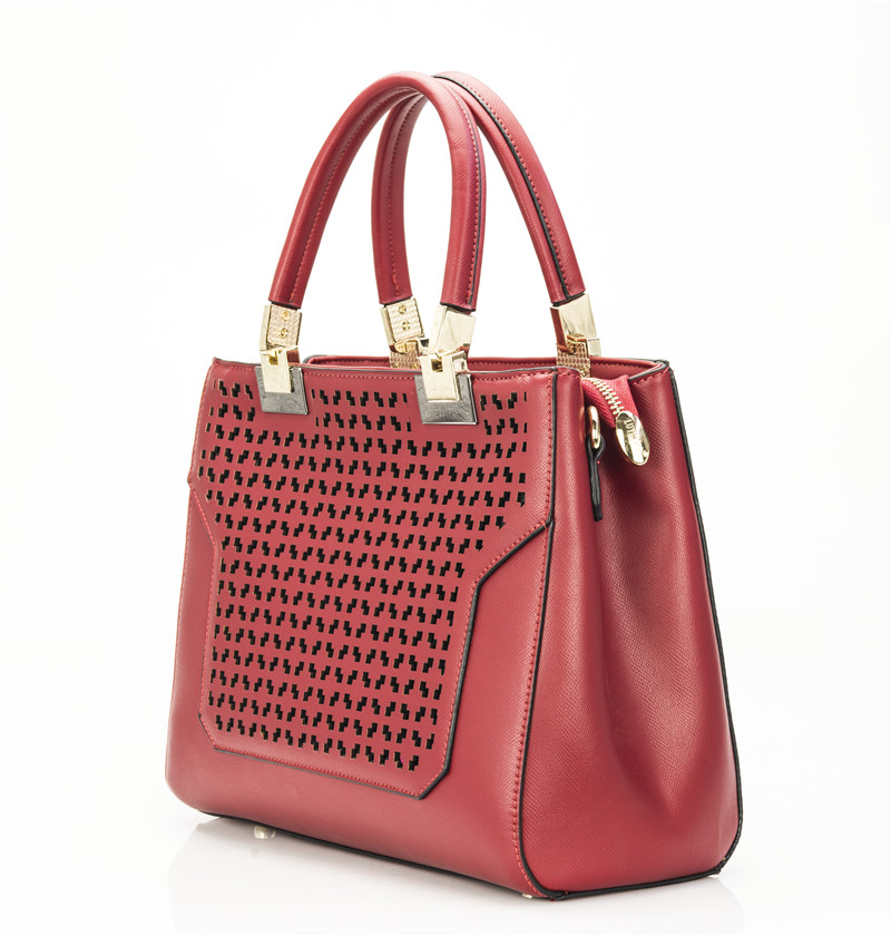 Brilliant PU Leather Hollow Out Women39s Bag  Buy Free Shipping