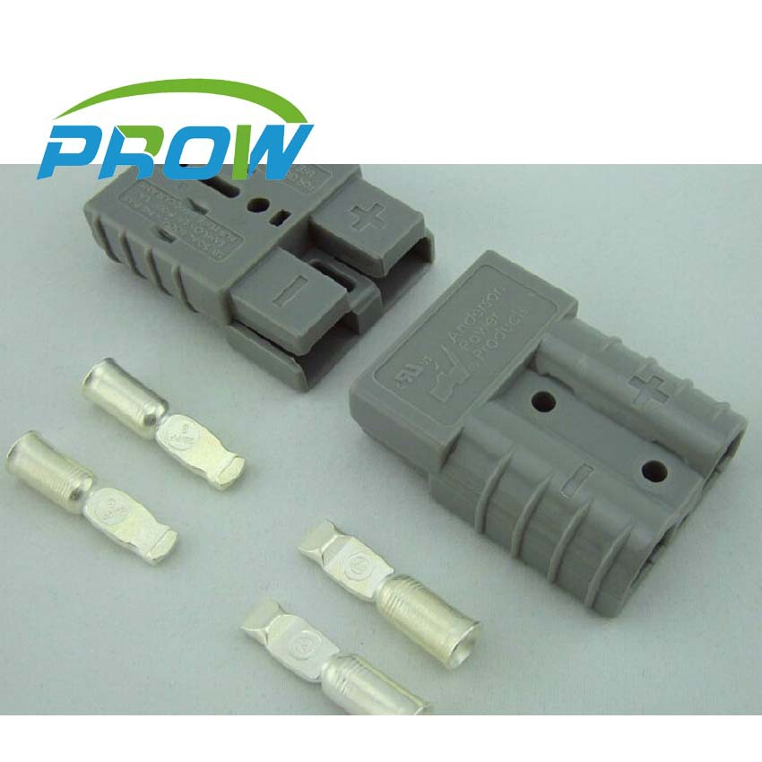 [PR] 2 pairs New 2Pin SMH 50A 600V Power Connector Battery Plug + terminal Connectors sets For Forklift Stacker electrocar<br><br>Aliexpress