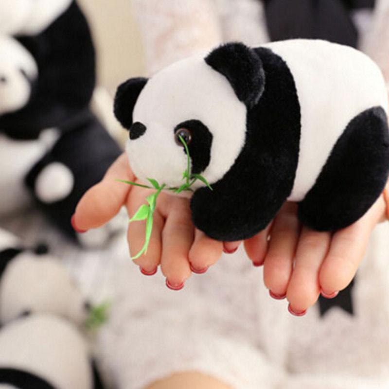 1PC Lovely Panda Pendant Toys Super Christmas Gift Doll Big Panda Plush Toys Send Friend Children Cartoon Animals Toys AY880617(China (Mainland))