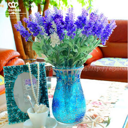 Lavender Flower Artificial Flower Silk Flower Living Room