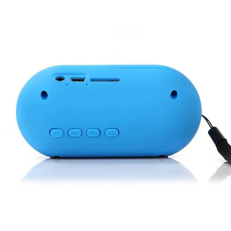 Y 28S Mini Powerful Portable Wireless Bluetooth Pill Speaker LED lights Pulse TF FM Radio Built