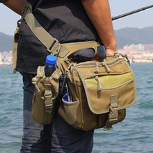 Multifunction Leg fishing rod Inclined shoulder Pocket Purse wallet bag tactical outdoor sports fishing rod bags FREE SHIPPING(China (Mainland))