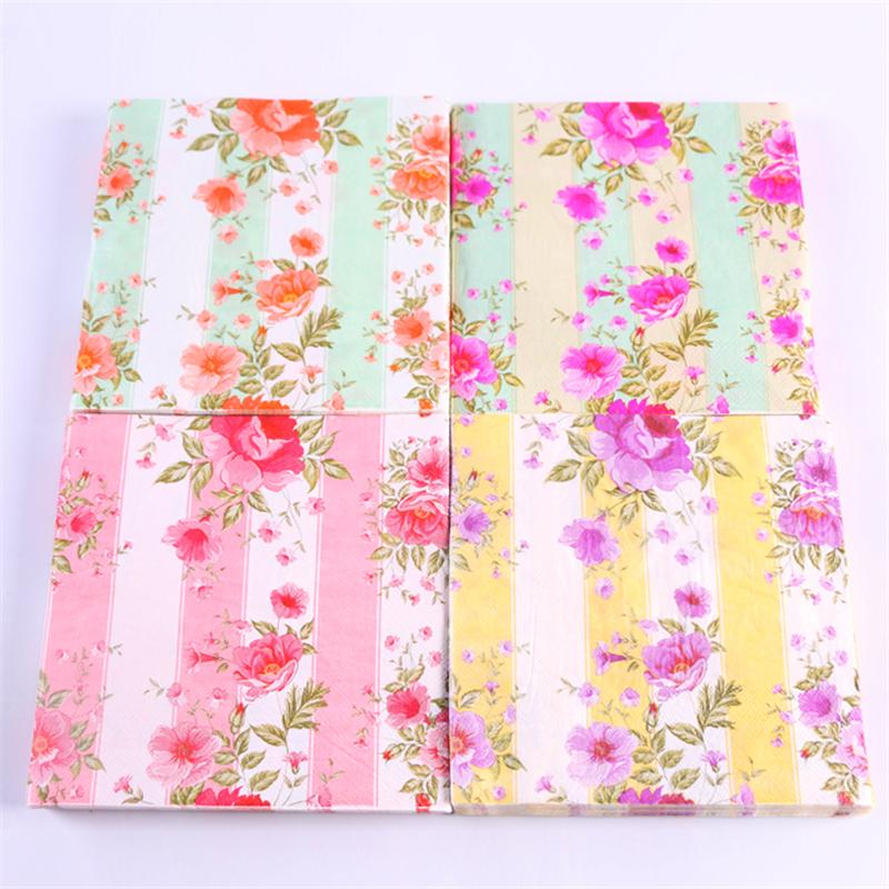 sale designs decoupage table paper napkins tissue vintage