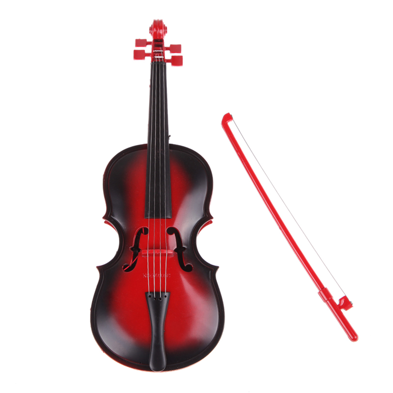 Red kids Educational Creative Gift Toys Simulation Led Violin Musical Toy(China (Mainland))