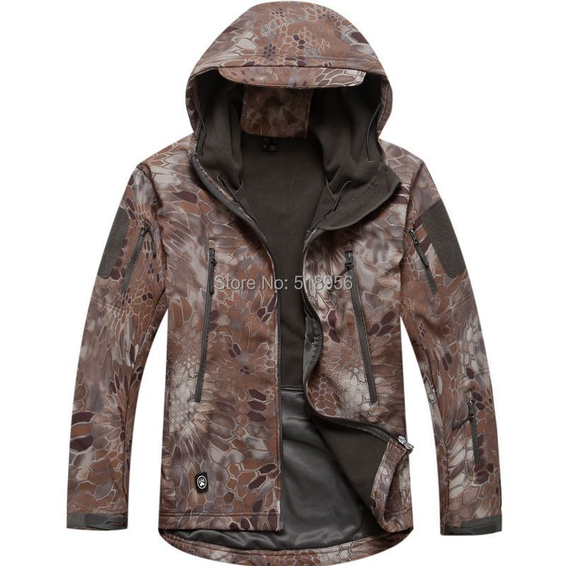 Free Shipping Lurker Shark skin Soft Shell TAD V4.0 Outdoor Military Tactical Jacket Waterproof Windproof Sports Army ClothingОдежда и ак�е��уары<br><br><br>Aliexpress