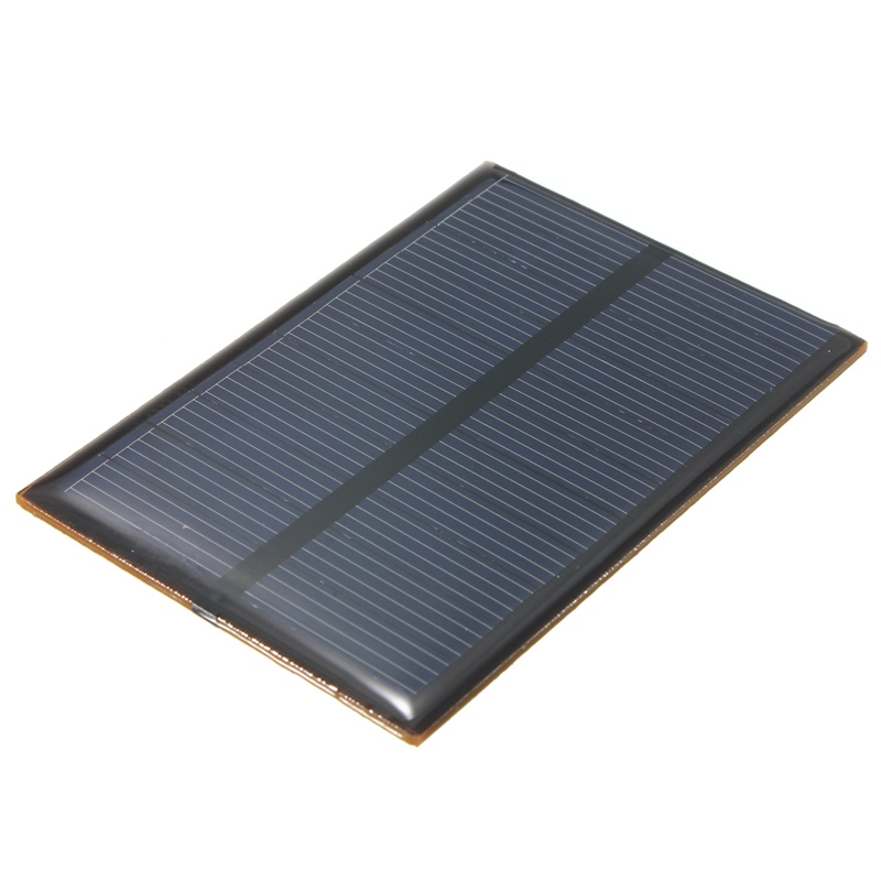 High Quality 5.5V 0.66W 120mAh DIY Monocrystalline Silicon Solar Panel Module Mini Solar Cells Battery Phone Charger(China (Mainland))