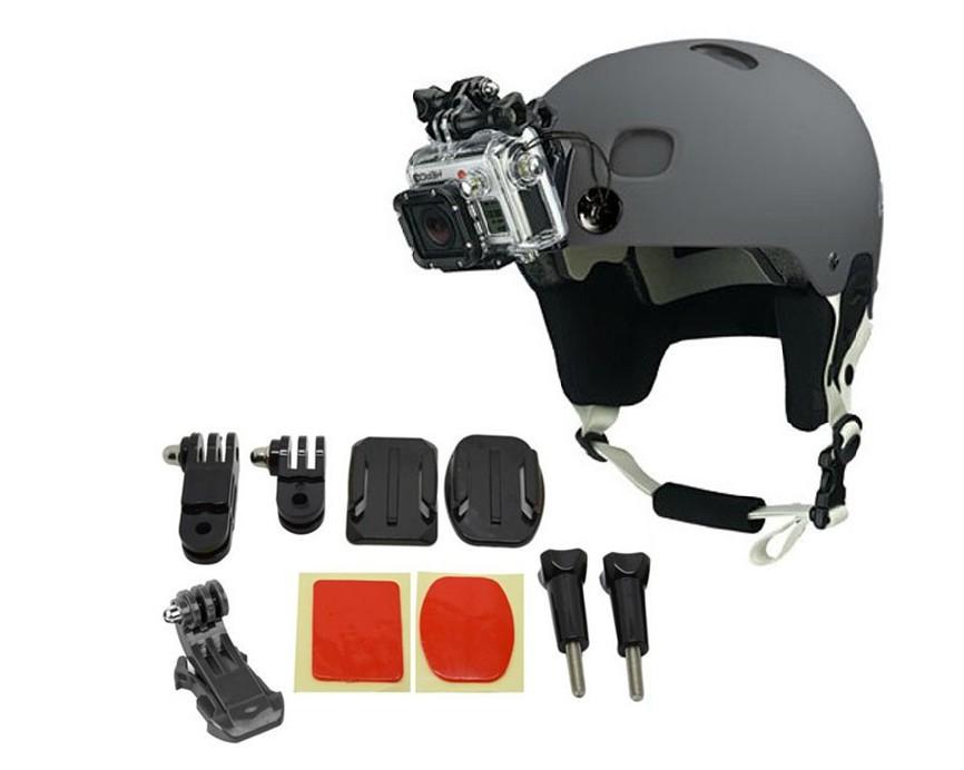 gopro helmet front mount for gopro hero 4 3 2 gopro. Black Bedroom Furniture Sets. Home Design Ideas
