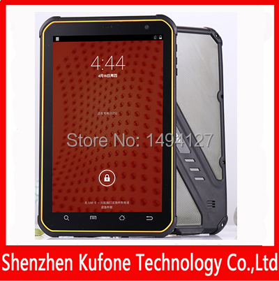 Kufone P200 Quad Core waterproof Rugged Tablet PC with 8 Inch IPS Touch Screen and 3G/WIFI/Bluetooth/GPS/Android 4.2 OS(China (Mainland))