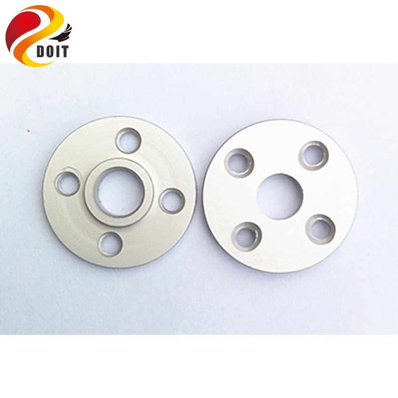 Original DOIT 30PCS Metal Servo Arm Plate Round 25T Robot Disc Matal Horns for MG995 MG996R Servos Robot Spare Parts Accessory(China (Mainland))