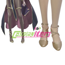 Free shipping customized Fire Emblem cosplay Fire Emblem Tharja Cosplay Shoes Version 01