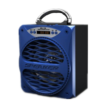 MS-136BT Bluetooth Power sport Powerful Portable Speaker Super Bass Wireless Speakers Outdoor Subwoofer with USB/TF/AUX/FM Radio(Hong Kong)