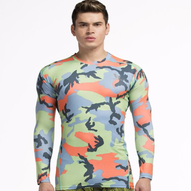Gym-Clothing-Camouflage-Men-Compression-tshirt-Full-Sleeves-Sport-Base-Layer-Clothes-Fitness-Bodybuilding-T-shirt 4