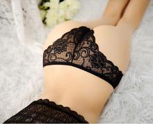 2016 Sexy Lace Women Underwear Girl Thongs Briefs V-string Lady Panties Lingerie Underwear(China (Mainland))