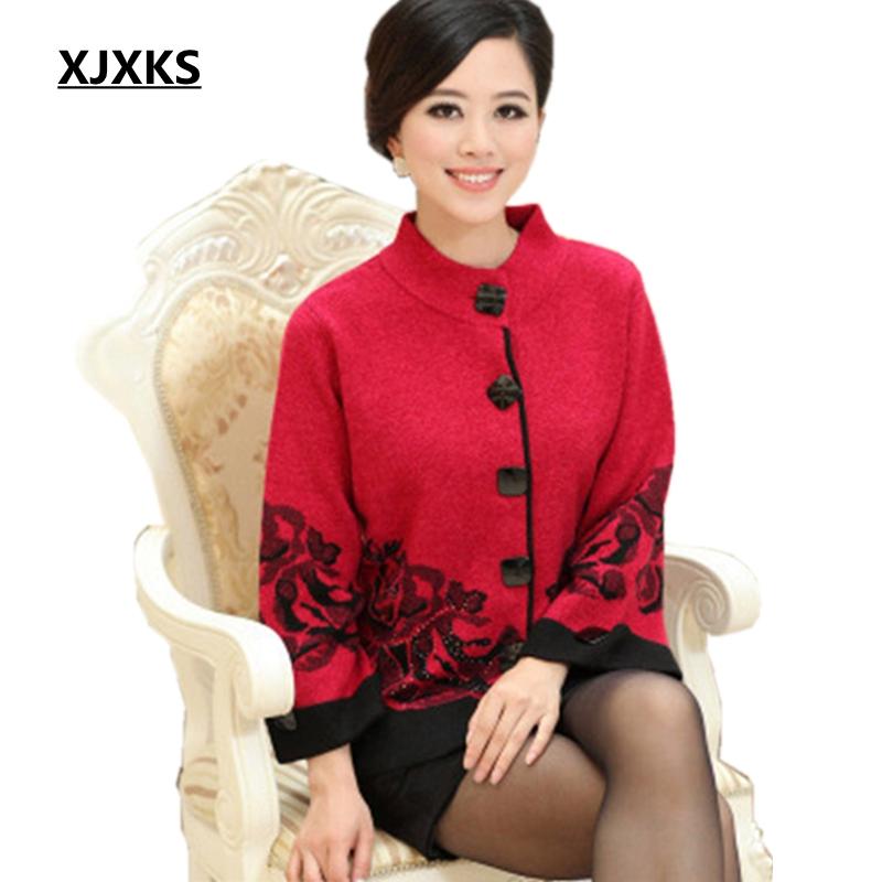 XJXKS-new-2017-women-s-outerwear-middle-age-women-sweater-mother-clothing-autumn-plus-size-M