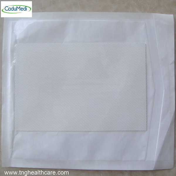 10pc 12*8cm CE Silicone Gel sheets mat medical surgery silica pads cica care keloid cohesive saline Scar repair dressing(China (Mainland))