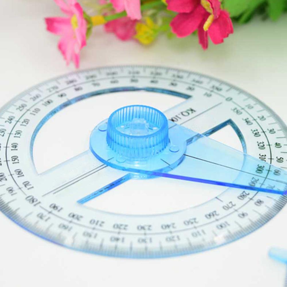Портативный диаметр 10 см пластик 360 градусов Pointe Калибр угловой измерительный aeProduct.getSubject()