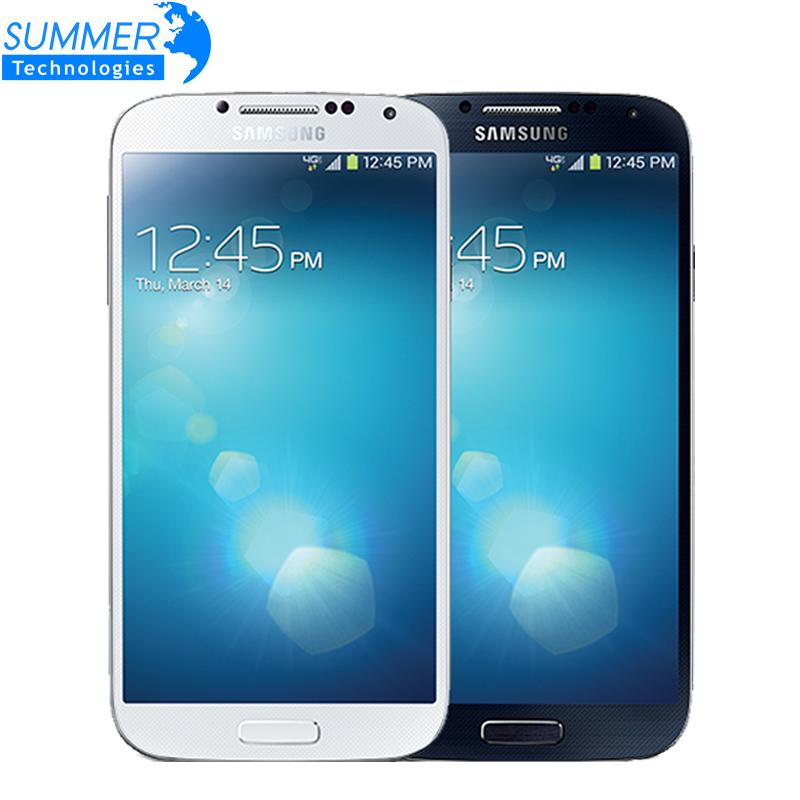 Original Unlocked Samsung Galaxy S4 i9500 i9505 Smartphone Quad Cell mobile Phones 4G  5.0 '' 2GB  RAM 16GB ROM Refurbished