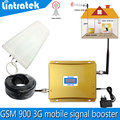 Full set LCD 3G Cellular Signal Booster Cell Phone GSM 900mhz Booster UMTS 2100mhz Mobile Signal