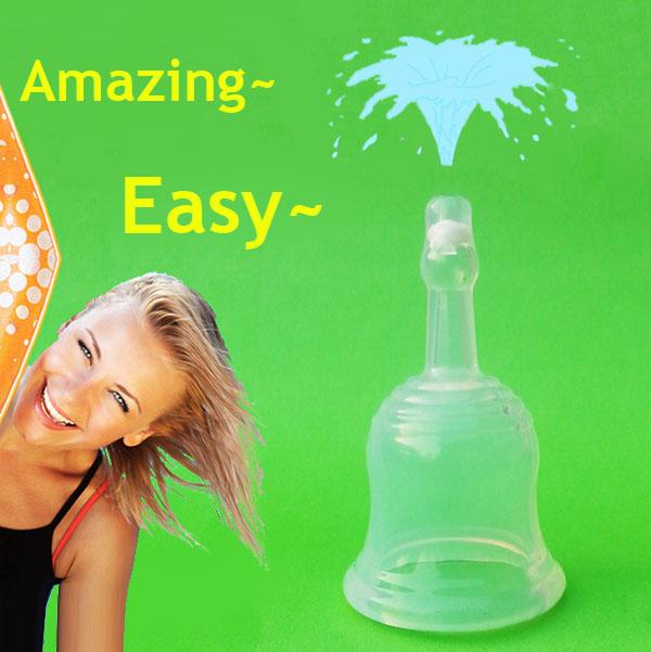 20 шт/много Оптовая Bassrose купе menstruelle копа силиконовая менструальная чаша многоразового женственная дива чашка менструальная чаша menstruelle