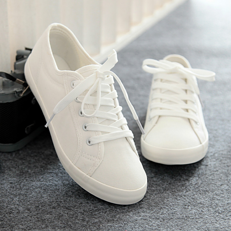 2016 clear fashion Women white shoes casual shoes women soft leather shoes flats female spring autumn shoes(China (Mainland))