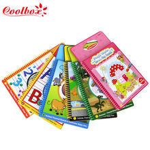Wholesale/6pcs Baby Kids Add Water with Magic Pen Doodle Painting Water Drawing book/Children's Educational Coloring Book Gift(China (Mainland))