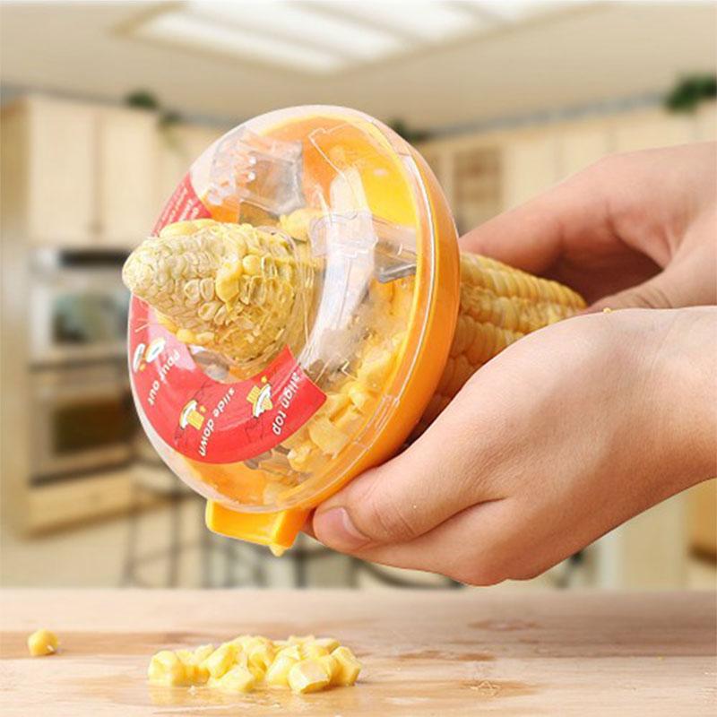Plastic Donut Design Corn Stripper Kerneler Kitchen Utensil Tools Fruit Vegetable Tools Kitchen Accessories Kitchen Gadget(China (Mainland))