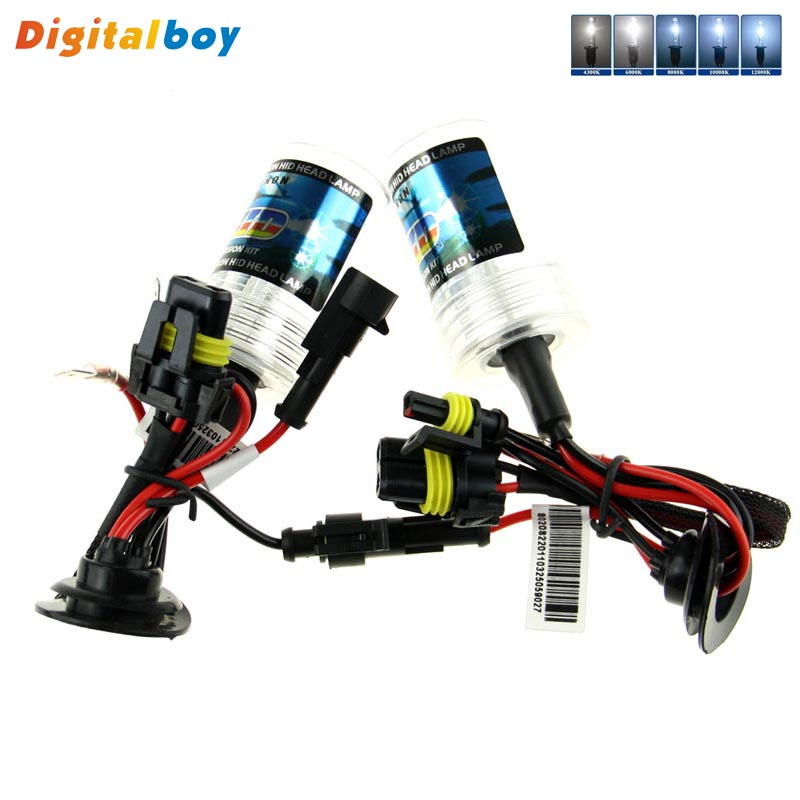 Quality Brand New 2Pcs 12V 35W Car Fog Flashlight Replacement H3 Hid Xenon Bulb Lamp 6000K 4300K 5000K 10000K 12000K H3 Bulbs(China (Mainland))