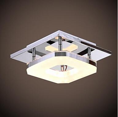 Modern LED Acryl Chandelier Rectangular Light Fixtures Living room Decoration 110V 220V(China (Mainland))