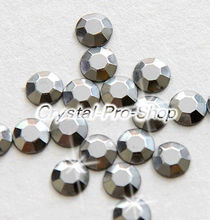 Buy 144 pieces Grey 2mm 6ss ss6 Faceted Hotfix Rhinestuds Iron Round Beads new Aluminium Metal Design Art DIY (u2m-Grey-1 gr) for $3.77 in AliExpress store