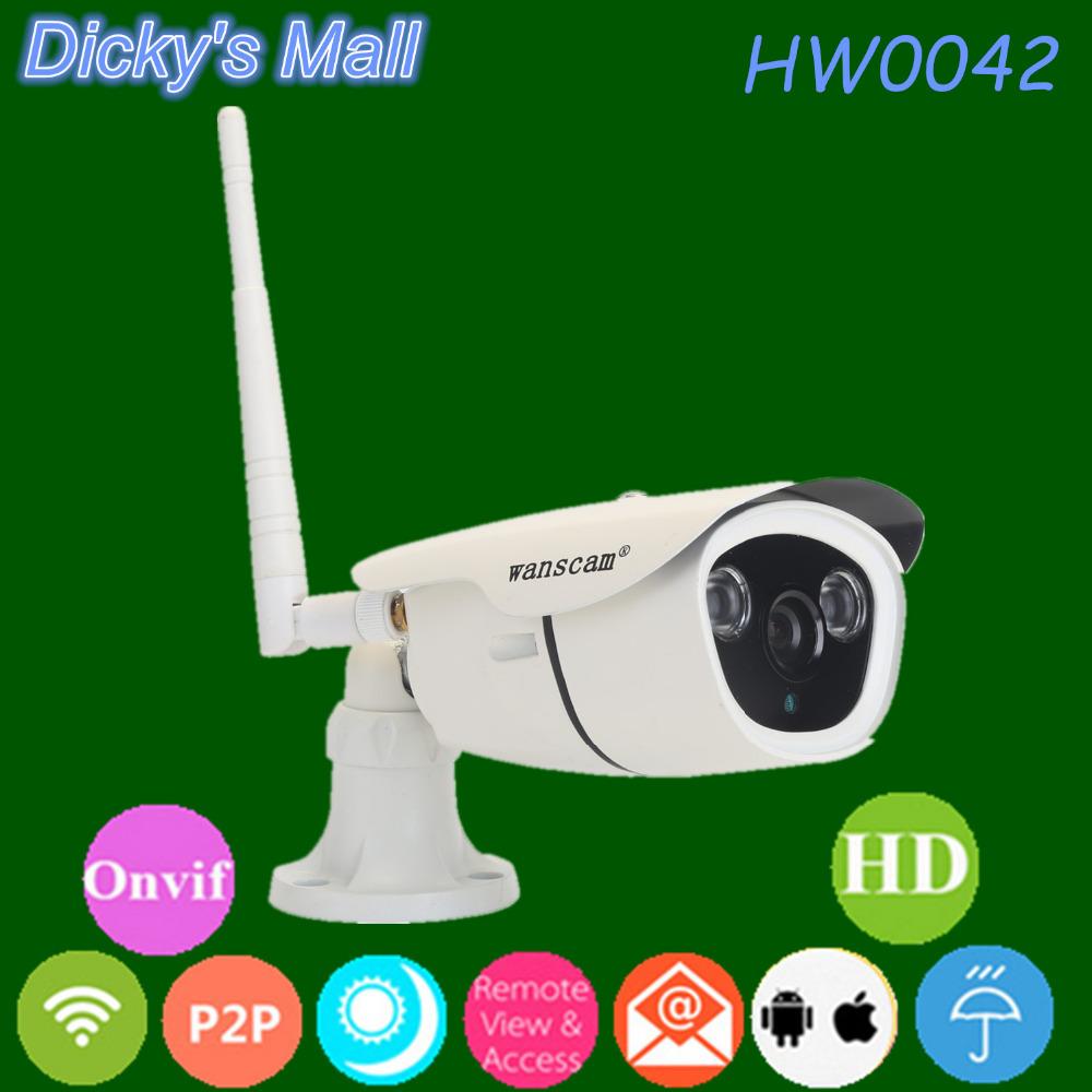 Plug Play Waterproof Outdoor ONVIF H.264 960P Wifi Wireless IR Night Vision Security Internet IP Camera(China (Mainland))