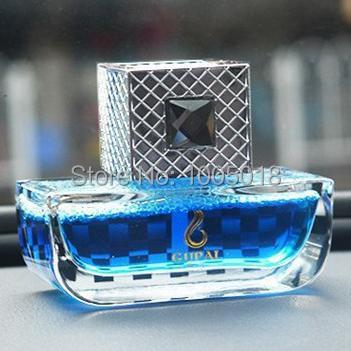 2015 Luxury car perfume seat perfumes 100 original interior car styling ornaments brand women air freshener bottle(China (Mainland))