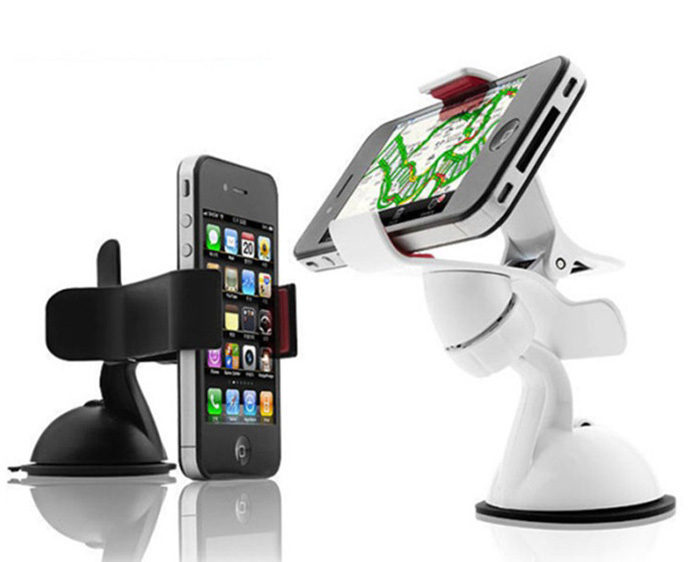 Universal Car Phone Holder Windshield Mount Mobile Phone Holder Stand For iPhone 5 6 Plus Samsung