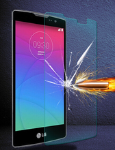Amazing 9H 0.3mm 2.5D Nanometer Tempered Glass screen protector for LG Spirit H420 Spirit 4G LTE H440N H440Y(China (Mainland))