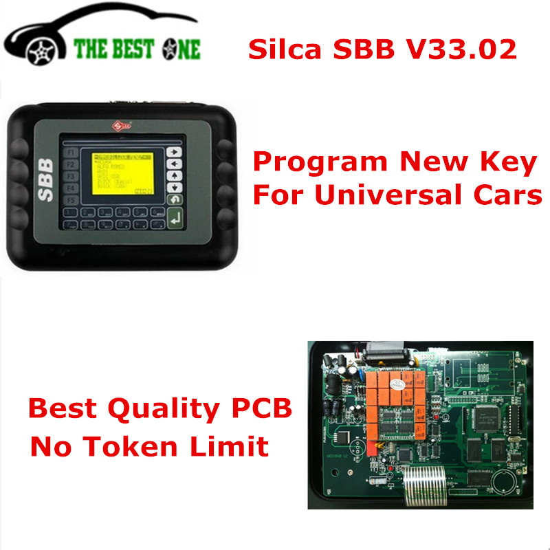 High Quality Silca SBB Key Programmer V33.2 / V33.02 Copy Chip For Many Car Via OBD2 Cable SBB Immobilizer Programmer Post Free(China (Mainland))
