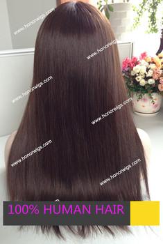 16 дюйм(ов) glueless полные парики шнурка на складе высочайшее качество еврейский парик на складе большой слой как изображение