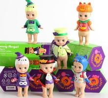 Free Shipping Sonny Angel Mini figure Halloween Series Action Figure 6 pieces of Sonny Angel Dolls PVC ACGN figure Toy Anime 8CM