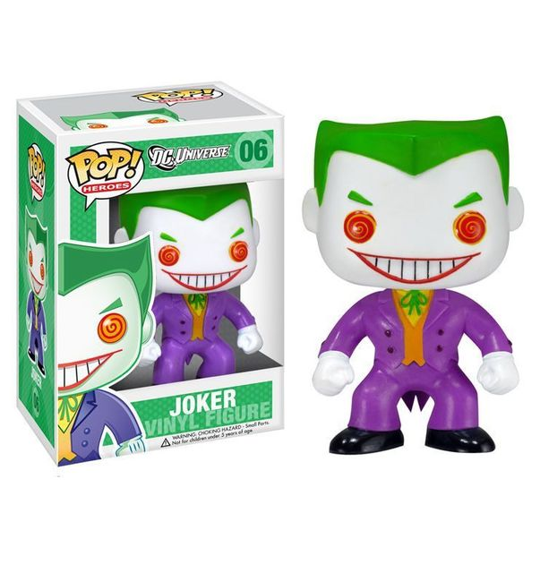 "FUNKO Batman The Joker DC Universe Heroes Pop! Vinyl 4"" Figure New"