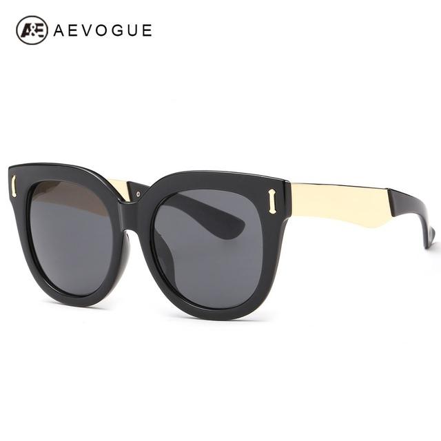 Aevogue очки женщины большим прозрачным рамки модной высокое качество старинные солнечные очки óculos De Sol Feminino AE0301
