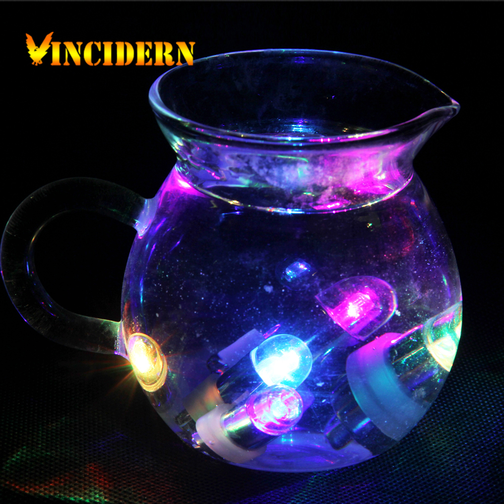 Waterproof LED Lights for Lanterns Balloons Mini Lamp for Wedding Party Decoration 10pcs/Lot(China (Mainland))