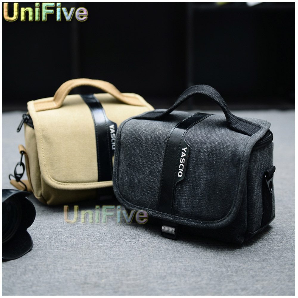 Сумка для видеокамеры Unifive 2015 DSLR Nikon Canon Sony Fujifilm Gopro a3000 a5000 a6000 HX400 NEX5T 5N J3 J5 V3 SX50 100D GF7 wdb вспышка для фотоаппарата nikon speedlight sb 5000 sb 5000