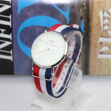2015 New Top Brand Luxury Daniel Wellington DW Watches Men Nylon Strap Quartz Wristwatch women Clock