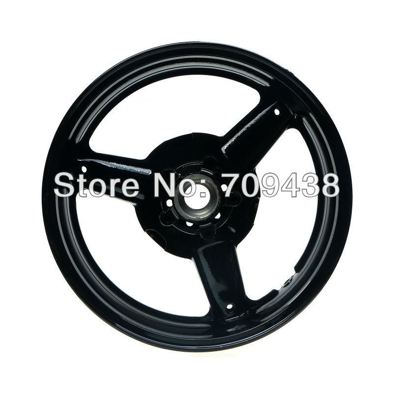 6.0X17 Alloy Rear Wheel Rim For SUZUKI GSXR600 97-00 GSXR750 96-99 GSX1300R Hayabusa 99-07 OEM BLACK(China (Mainland))