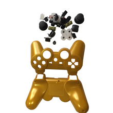 Gold Full Controller Shell Case Housing Button Kit for Sony PS3 Bluetooth Controller
