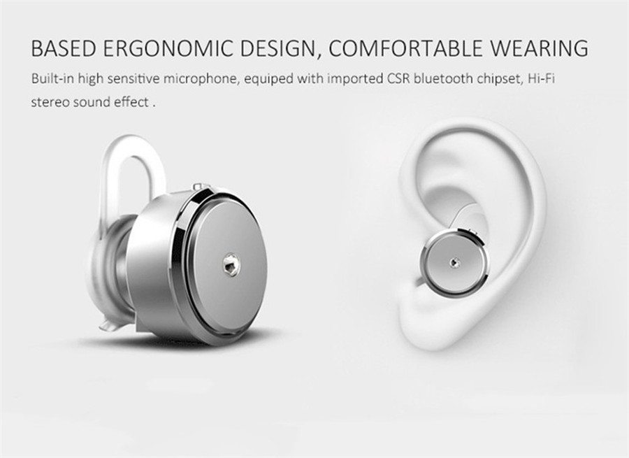 Bluetooth Headphone Mini Earphone V4.0 Wireless Bluetooth Handfree Stereo Universal Headset For All Phone For All Mobile Phone