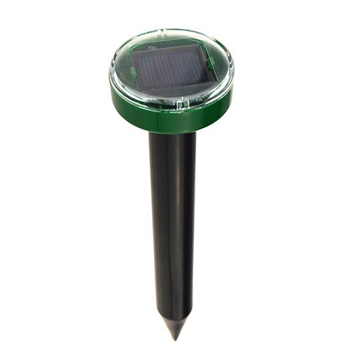 Eco-Friendly Solar Power Ultrasonic Gopher Mole Snake Mouse Pest Reject Repeller