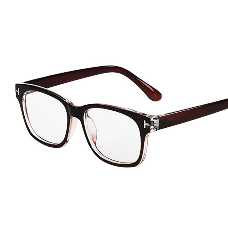 Retro Designer Eyeglass Frames : New fashion men women retro eyeglasses brand designer ...