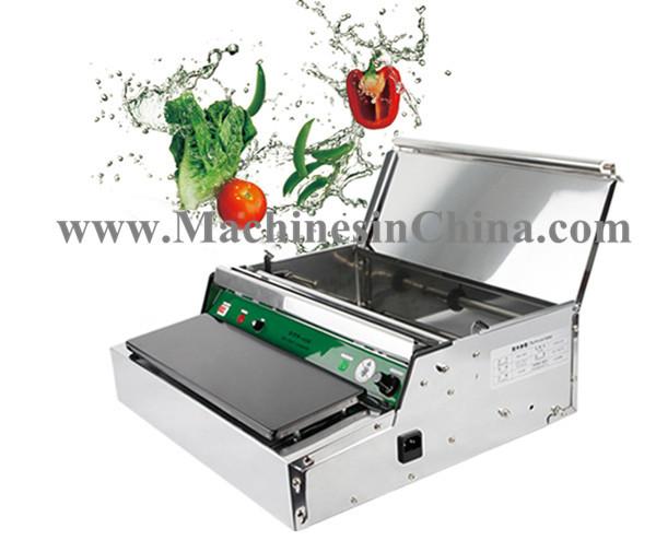 Vacuum sealing machine Sealing Machine Vegetables Fruit Supermarket Packer Built-in Dishes Machine(China (Mainland))