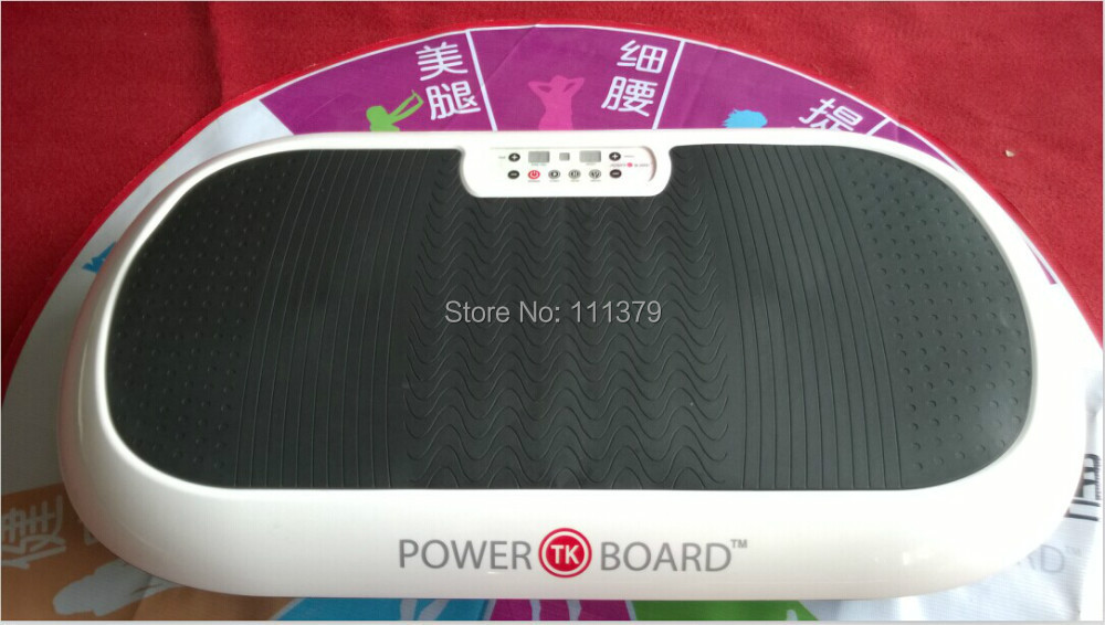 high quality whole body fitness equipment gym vibration plate equipment for sales body slimmer(China (Mainland))