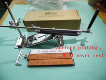 5setsLatest technology Plating surface Will never rust cooking tools knife sharpener system 4pcs sharpening stone apex edge pro(China (Mainland))