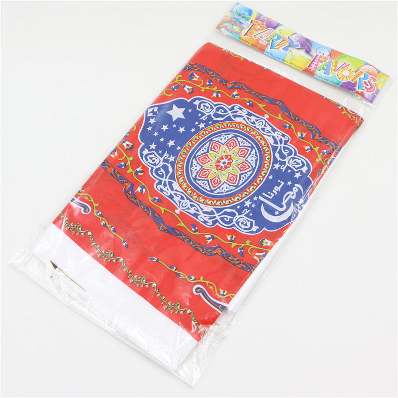 12 people Arabic Ramadan Theme Flag Hat Blow out table clothes Islamic Month Birthday Party Decoration For Kids Supplies 14pcs(China (Mainland))